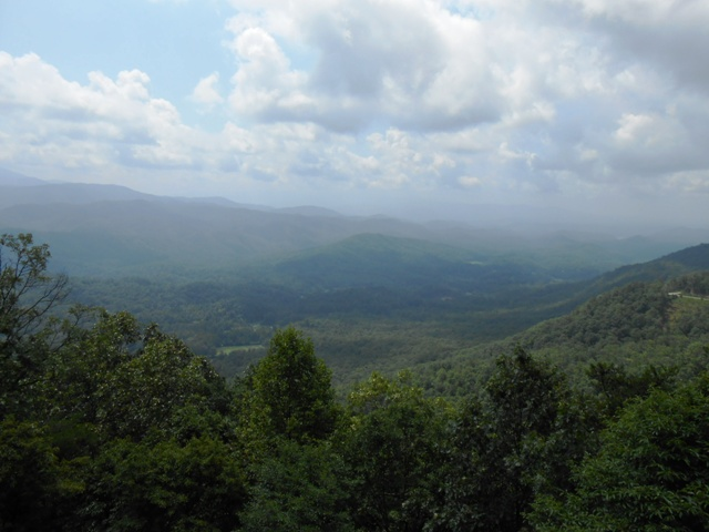 View from Foothills Parkway.