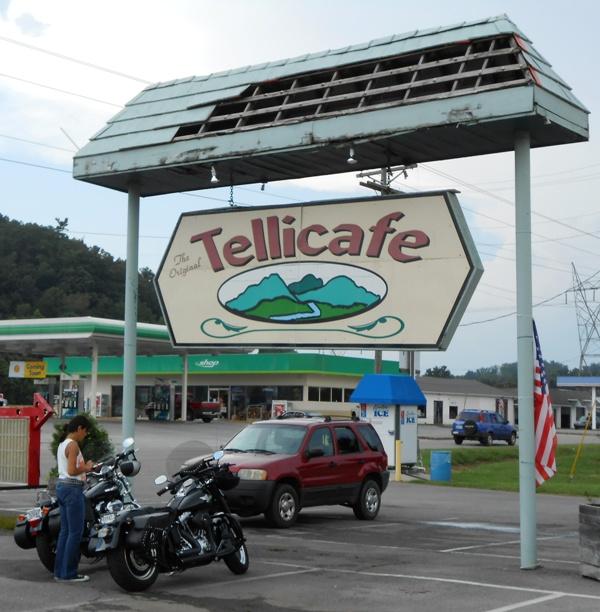 The Tellicafe in Tellico Plains.