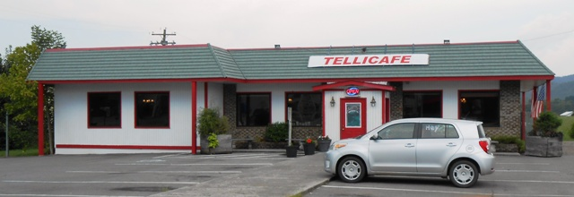 Tellicafe, a great place to eat!