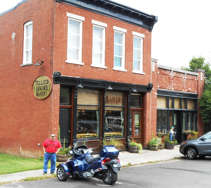 Next stop is the Tellico Grains Bakery for lunch.