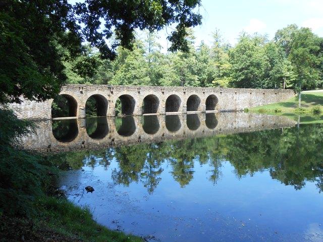 View of the bridge.