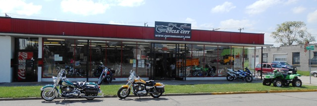 Cycle City in Kingsport, TN.