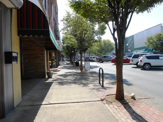 Downtown Kingsport, TN.