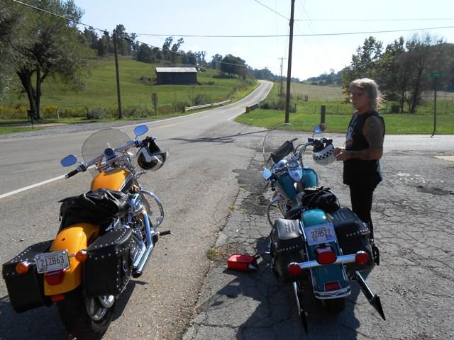 On the roadside off 93.