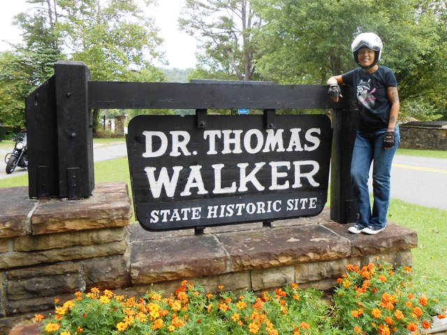 We arrived at the Dr. Thomas Walker State Historic Site.