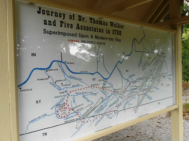 Map of the expedition area.