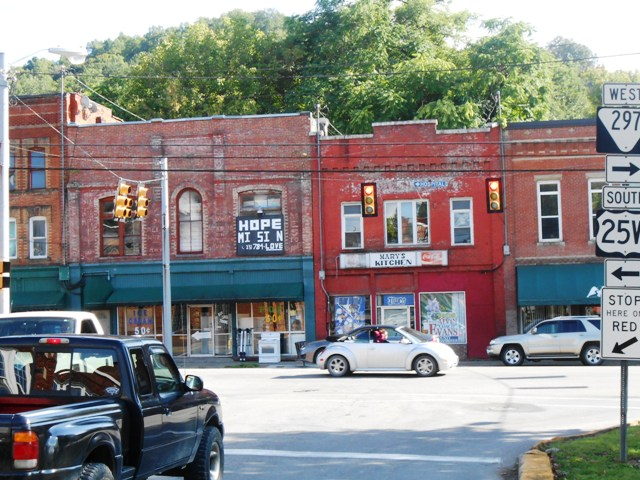 Another view of downtown Jellico.
