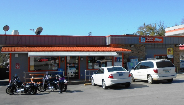 The 27 Pit Stop in Wartburg.