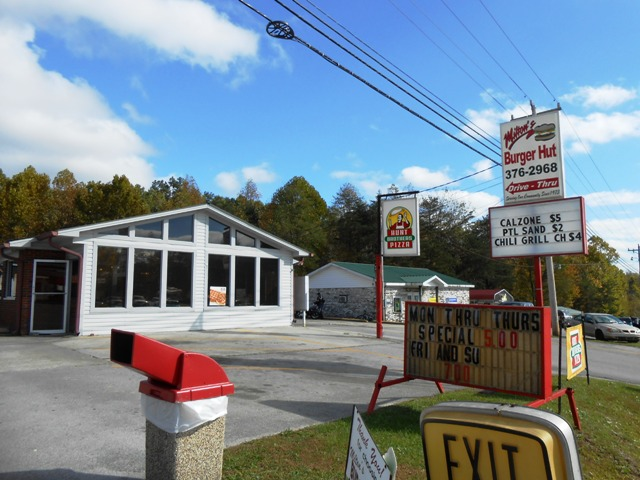 The Burger Hut in Whitley City, KY.