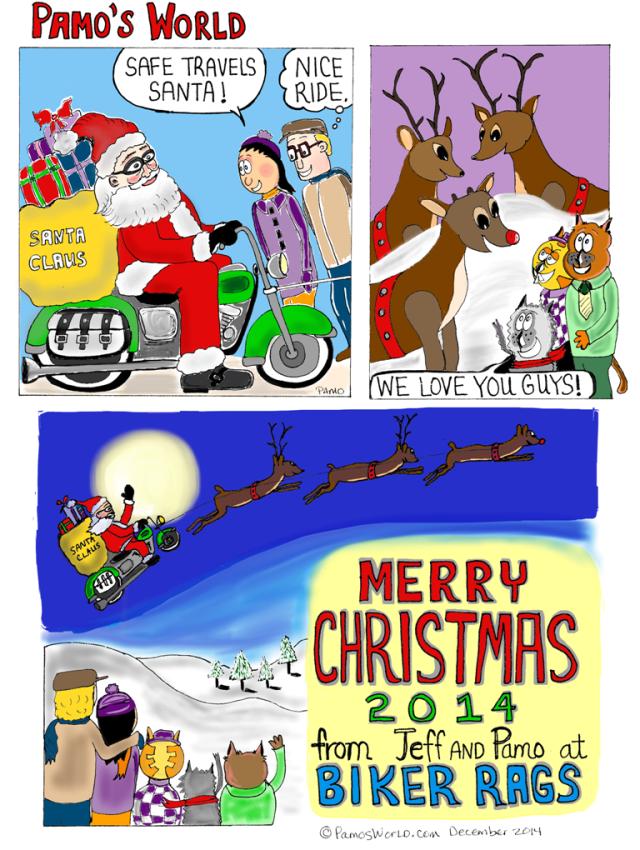 2014 Christmas Card PNG