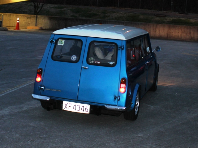 Another vintage mini arrives. How cute!