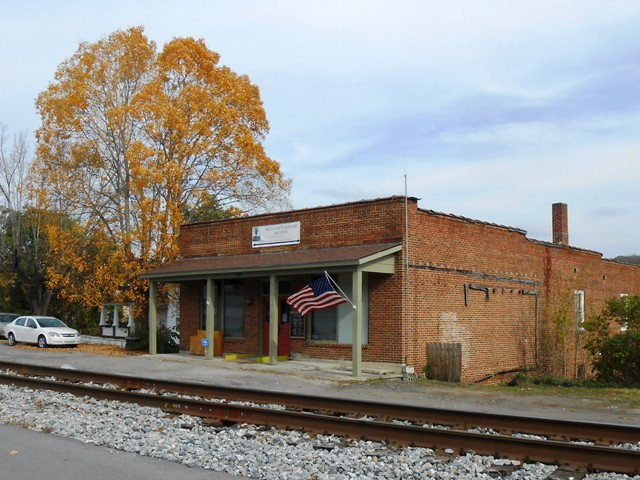 The Railroad Museum. Unfortunately closed during our visit.