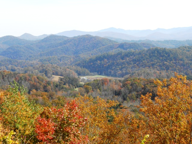 On the Foothills Parkway.