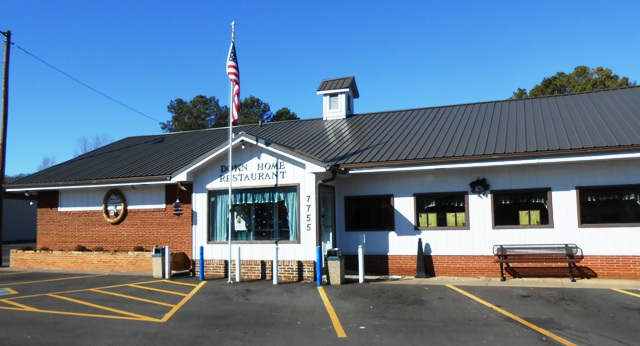 The Down Home Restaurant in Rutledge, TN.