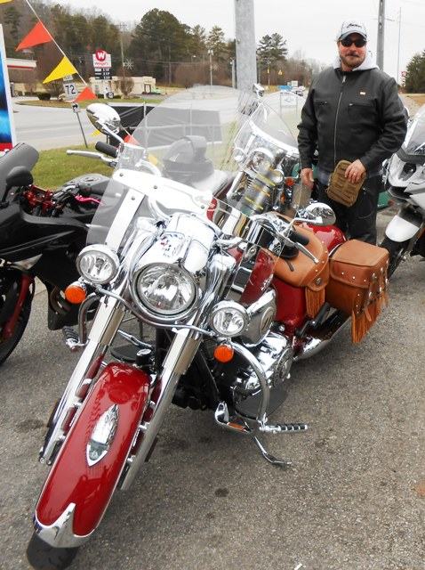 And another beautiful Indian! Nice bike Steve!