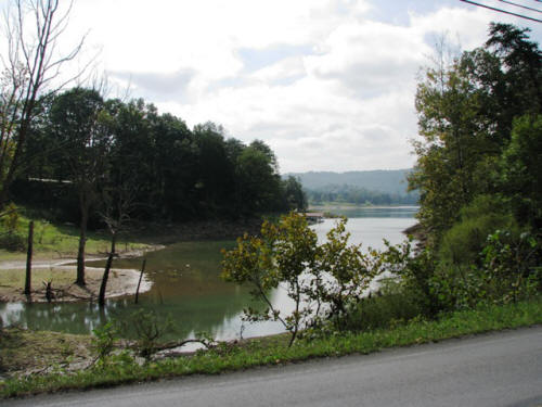 This is Norris Lake from Sharps Chapel Road.