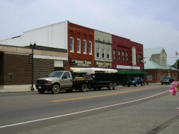 Downtown Sweetwater.