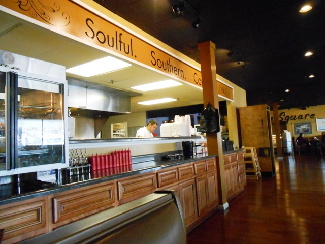 "Dean's specializes in ""soulful southern cooking""."