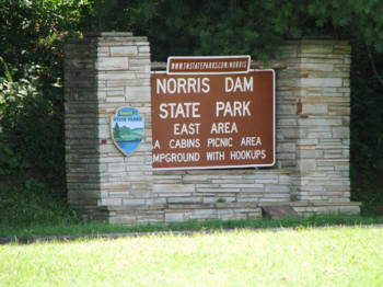 Entrance to Norris Dam.