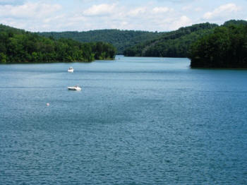 View from Norris Dam.