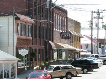 Downtown Dandridge, TN.