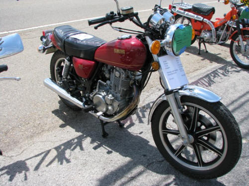 1978 Yamaha SR 500