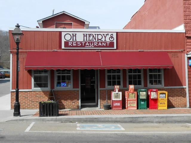 Oh Henry's in Rogersville, TN