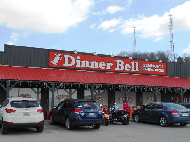 We stopped for lunch at the Dinner Bell in Sweetwater.