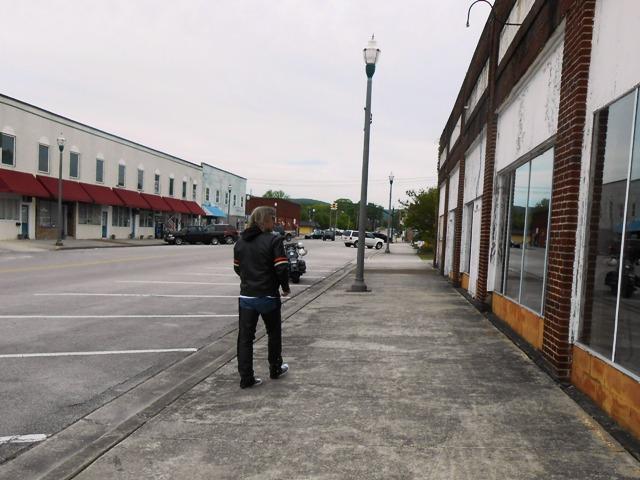 Front Street in Rockwood.