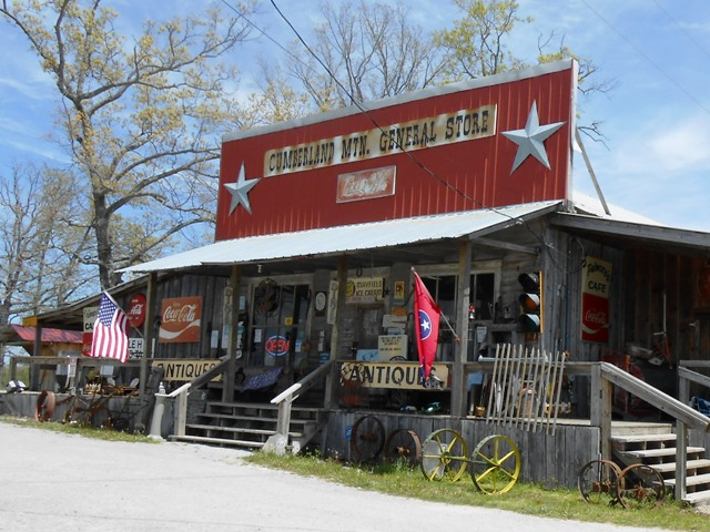 The Cumberland Mtn General Store in Clark Range.