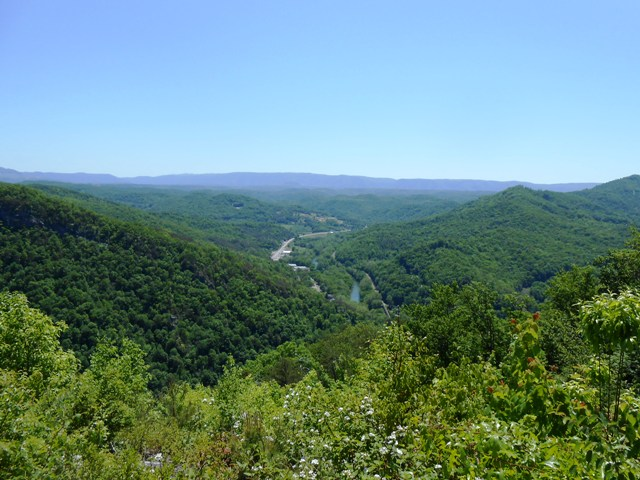 Here's the view from Chained Rock.