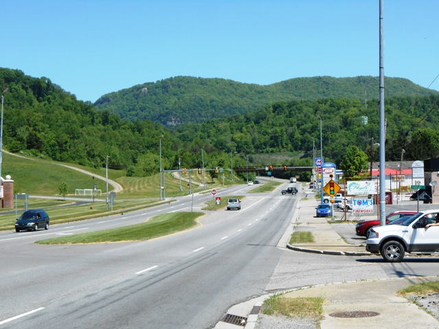 25E heading toward Middlesboro, KY.