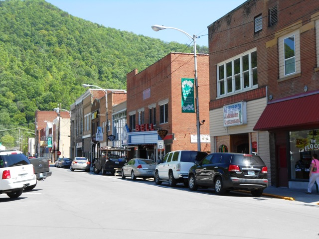 Downtown Pineville.
