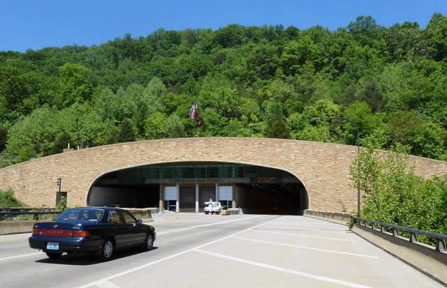 Go through the Cumberland Gap Tunnel into Middlesboro.