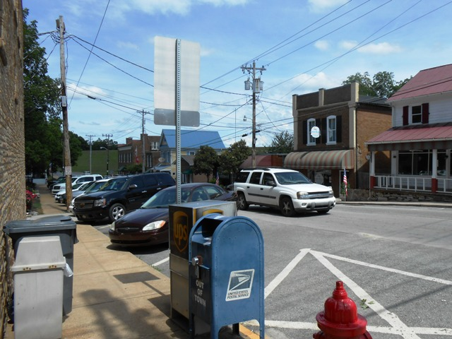 Another shot of downtown Dandridge.