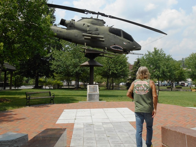 The Cumberland Square Park is a Veteran's Memorial.