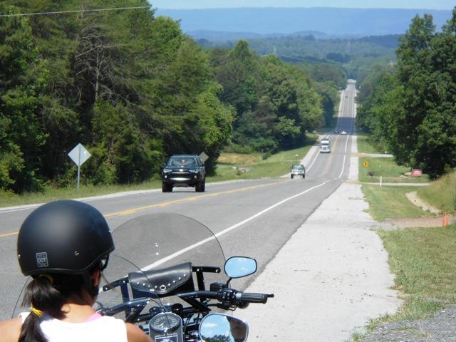 Heading down highway 68.