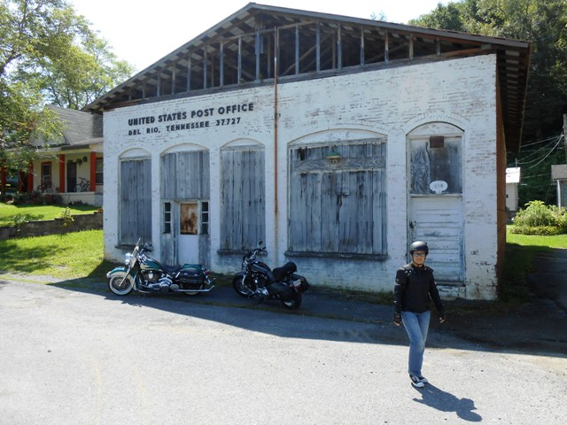 The old post office in Del Rio.