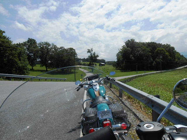 Heading down 351 north.