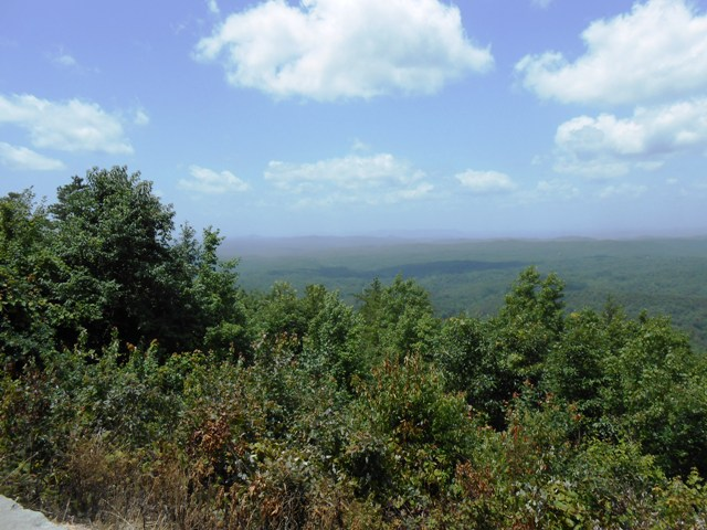 The views along Cherohala Skyway are gorgeous.