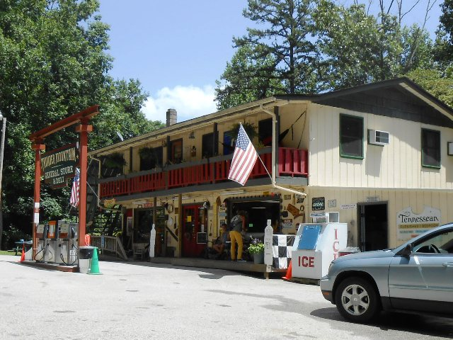 The Thunder Mountain General Store and Deli.