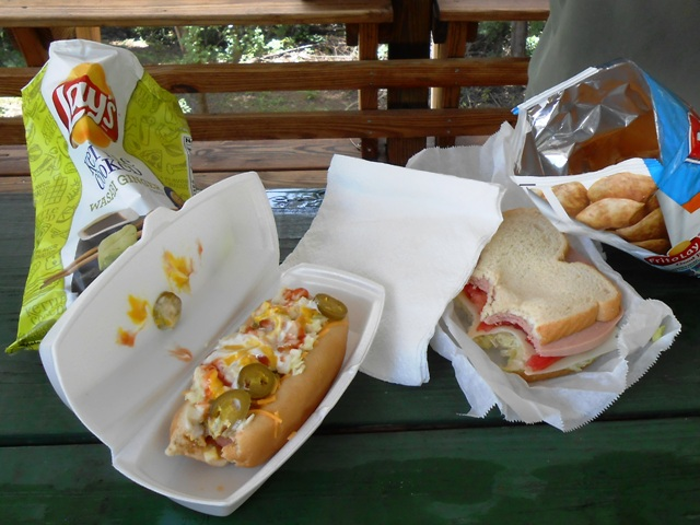 Deli sandwiches from The Thunder Mountain General Store are terrific!