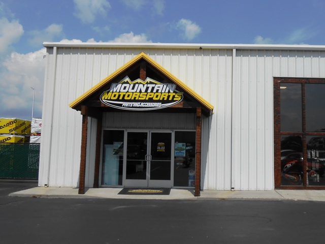 Parts and accessories are located in a separate building.