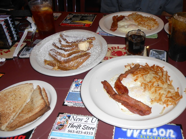 We ordered our favorite breakfast!