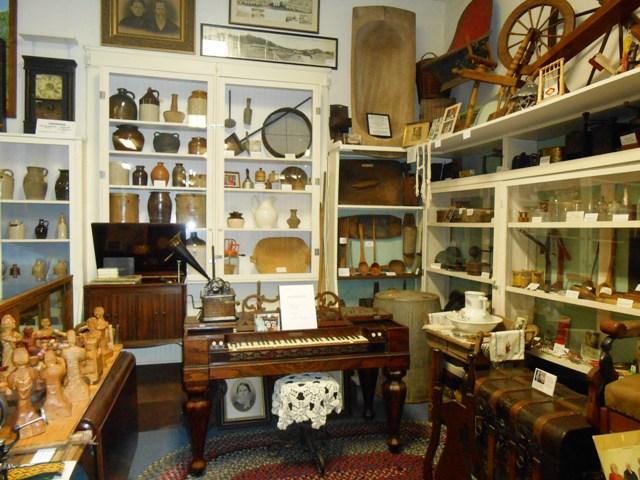 So many items on display!