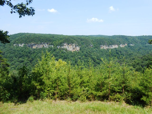 The plateau area is recognizable in this view.