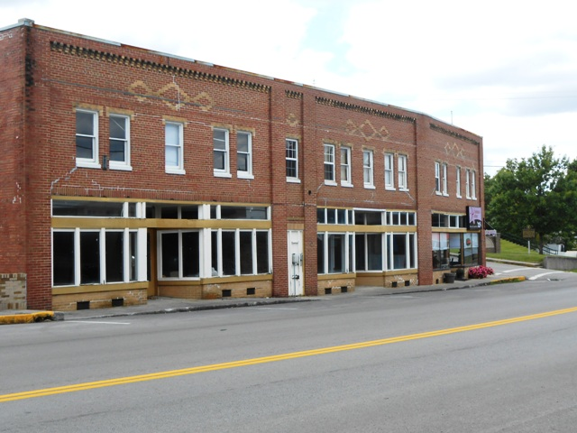 Downtown Whitley City, KY.