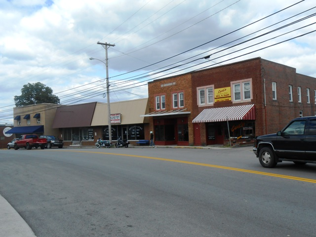 Another view of downtown Whitley.