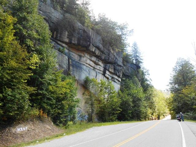 25W, heading toward Jellico, is a beautiful winding road.