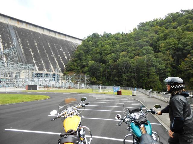 Fontana Dam is massive!